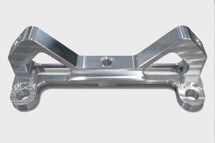 Prototyp: Alubauteil für Montagestation