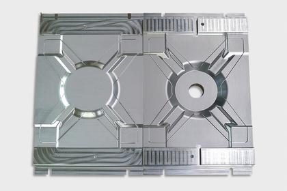 Prototyp: Form zur Herstellung von Carbon-Bauteilen