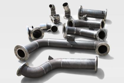 Rohrleitungen für Löschfahrzeuge