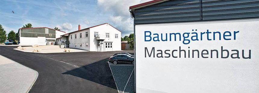 Baumgärtner Maschinenbau Zentrale im Donau-Ries, Werks- und Verwaltungsgebäude