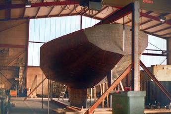 Konstruktion von Schiffen, ca. 1982